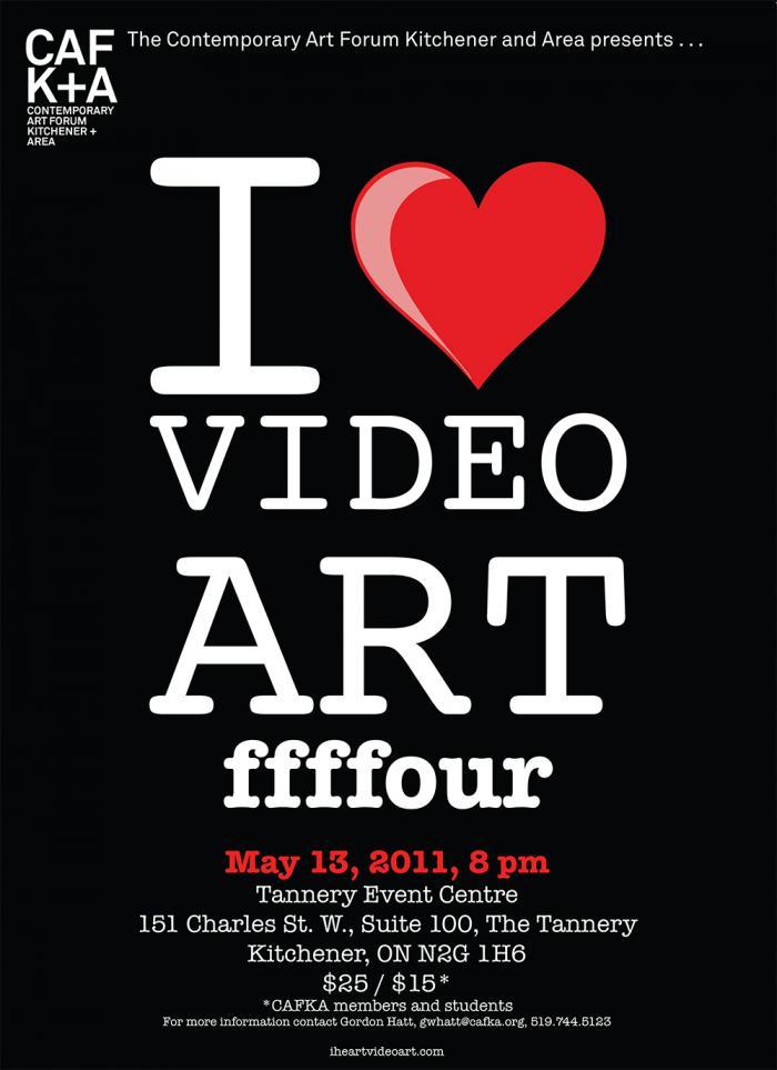 I Heart Video Art FFFFour